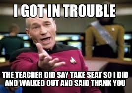 Take A Seat Meme - meme creator i got in trouble the teacher did say take seat so i