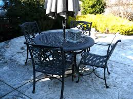 36 Inch Patio Table Country Dining Table Tags Iron Patio Table With Umbrella