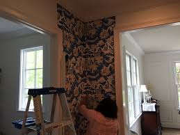 tnwallpaperhanger wallpaper installation project butler u0027s pantry