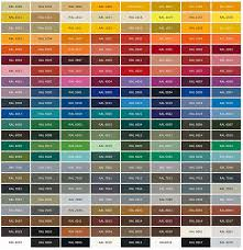 ici paints color chart real fitness