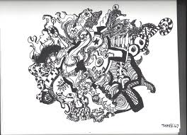 random abstract drawing with sharpies by joshm99 on deviantart