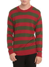 horror sweater horror green stripe sweater green stripes horror and