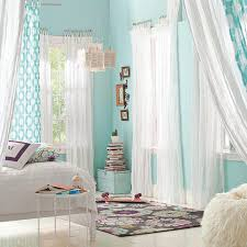 aqua walls it u0027s so calm and fresh white curtains are perfect i
