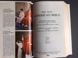 holy bible memorial edition illustrated nab 1976 soft white