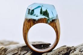 wooden finger rings images Secret wood rings jpg