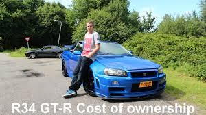nissan skyline insurance cost skyline garage running cost of an r34 gt r vlog 3 youtube