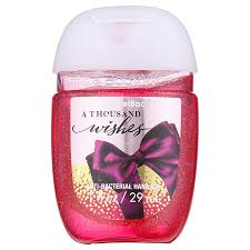 a thousand wishes bath works pocketbac a thousand wishes antibacterial gel