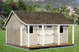 12 u0027 x 16 u0027 shed with porch pool house plans p81216 free