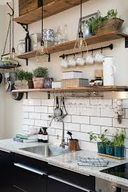 kitchen shelves decorating ideas best 25 open kitchen shelving ideas on in plan 3