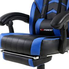 gtforce turbo blue reclining leather sports racing office desk