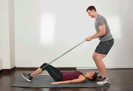 Chair Resistance Band Exercises Partner Exercises 29 Moves To Do With A Friend Greatist