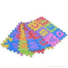 tappeti puzzle bambini 36pcs stuoia educativo foam bambini giocattolo tappetino