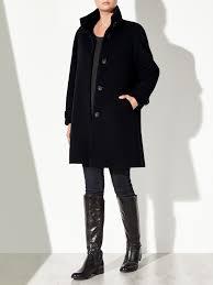 john lewis janet swing coat in black lyst
