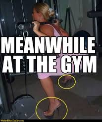 Woman Lifting Weights Meme - funny pictures weirdnutdaily stiletto gym