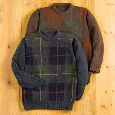 scottish tartan wool sweater national geographic store
