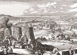 vintage siege siege of derry 1689 from the drawing by vintage design pics