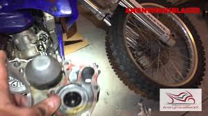 2003 yz250 water pump seal replacement youtube