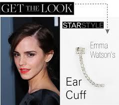 wearing ear cuffs look who s wearing ear cuffs top buttons