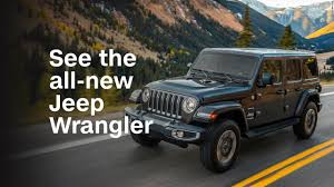 see the all new jeep wrangler video business news