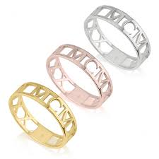 numeral ring numeral ring