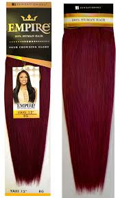 Argan Oil Hair Color Chart Sensationnel Empire 100 Human Hair Weave Yaky 8 18 Buy 1 Get 1 Free