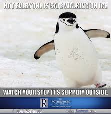Fall Meme - slip and fall on ice meme the rothenberg law firm llp