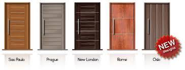 Door Designs For Bedroom by Door Modern U0026 Modern Wood Door With Stainless Steel Design U0026