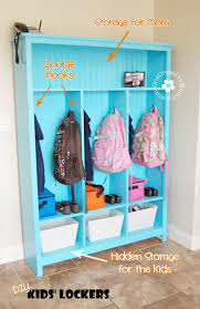 kids lockers for home make your own storage lockers for kids
