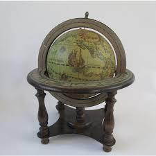 Small Desk Globe World Globe Vintage Rotating Wood Small Desk Globe