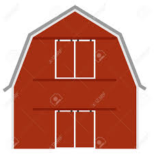 Red Barn Door by Old Red Barn Ot Farm House Barn Door Vector Isolated Farming