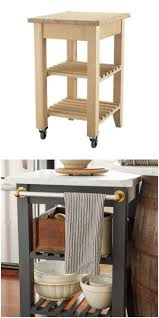 Kitchen Carts Islands by Best 25 Portable Kitchen Island Ideas On Pinterest Portable