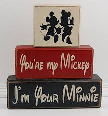 Mickey Home Decor Amazon Com Your My Mickey I U0027m Your Minnie Love Mickey Mouse