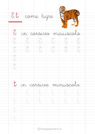lettere straniere in corsivo maiuscolo e minuscolo schede di pregrafismo delle lettere dell alfabeto da stare