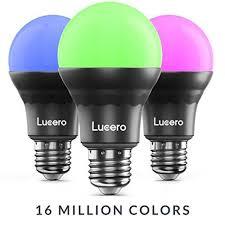 lucero smart bulb color changing rgb led light bluetooth app