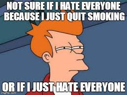 Stop Smoking Memes - it has been quite a struggle imgflip