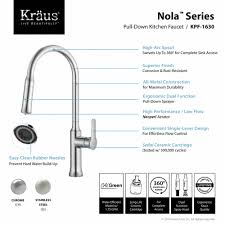Kitchen Faucets With Sprayer In Head by Kitchen Faucet Kraususa Com