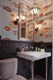 wallpaper in bathroom ideas japanese style wallpaper for walls one decor