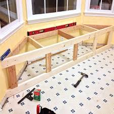 Bay Window Seat Kitchen Table by How To Make A Storage Window Seat Jacquie U0027s Board Pinterest