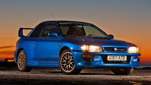 subaru impreza old a holy grail subaru impreza 22b sti is up for sale