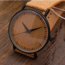 wood gifts new luxury wooden men watches cork leather with wood