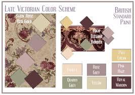 board screen late victorian color scheme victorian era