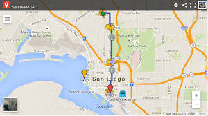 Traffic Map San Diego by Traffic Info U2013 San Diego Half Marathon