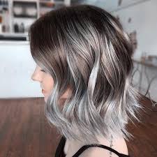 silver brown hair best 25 silver ombre hair ideas on pinterest silver ombre grey
