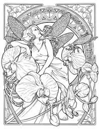 flower of aman lineart by righon deviantart coloring books