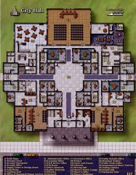 police station floor plans municipal police station 995 1361 shadowrun floorplan game