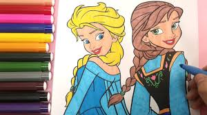 frozen colouring pages color elsa colouring pages
