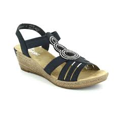 wedge sandals marco tozzi gabor rieker fly london and more