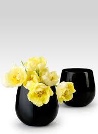 halloween city flower mound tx 5 1 2in black glass vase halloween flower arrangements black