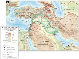 Ancient Near East Map Index Of Images Maps