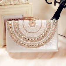 wedding bags pearl evening bags 2016 beading bridal bags